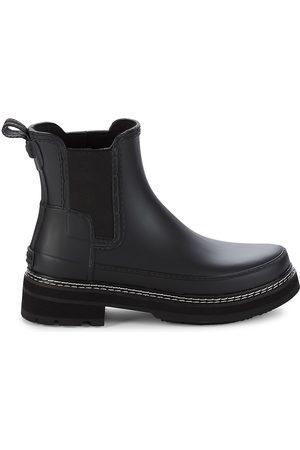 Hunter Women's Rubber Chelsea Boots - - Size 10