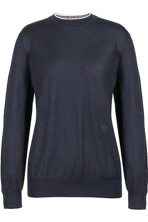 Loro Piana Women's Leyton Cashmere & Silk Knit Sweater - - Size Medium