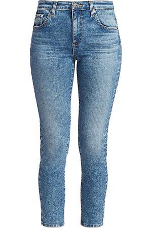 AG Jeans Women's Prima Mid-Rise Crop Cigarette Jeans - - Size 29 (6-8)