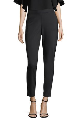 Lafayette 148 New York Women's Acclaimed Stretch Murray Cropped Pant - - Size Large