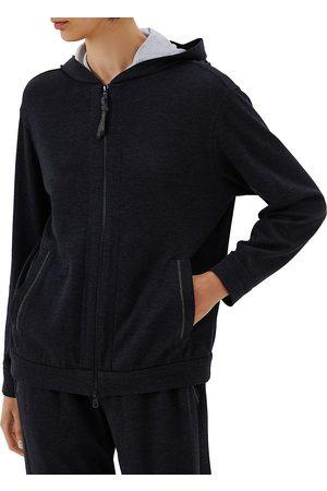 Brunello Cucinelli Women's Zip-Front Hoodie - - Size XXS