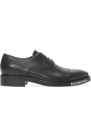 Balenciaga Men's Soft Leather Derby Shoes - - Size 46 (13)