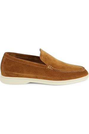 Loro Piana Men's Summer Walk Suede Loafers - - Size 46 (13)