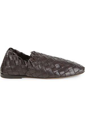 Bottega Veneta Men's Intrecciato Leather Slip-On Loafers - - Size 42 (9)