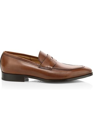 To Boot Men's Flex Dress Tesoro Leather Penny Loafers - - Size 15