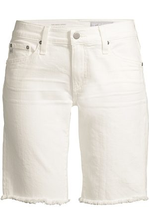 AG Jeans Women's Nikki Relaxed Skinny Denim Shorts - - Size 32 (10-12)