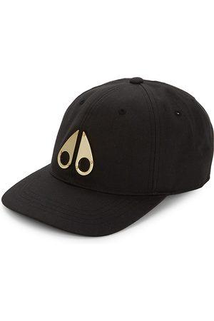 Moose Knuckles Men Caps - 24K Goldplated Logo Baseball Cap