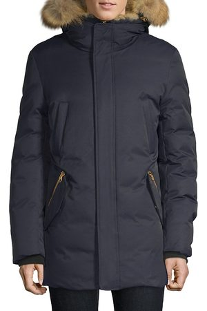 Mackage Men's Edward Coyote & Rabbit Fur Parka - - Size 36
