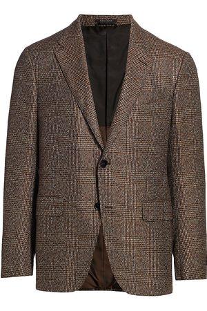 Ermenegildo Zegna Men's Glen Plaid Sportcoat - - Size 50 (40) R