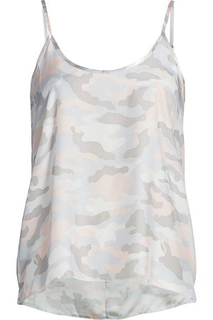 ATM Anthony Thomas Melillo Women's Camouflage Silk Camisole - - Size XL
