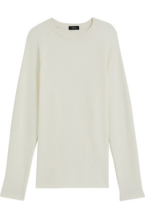 THEORY Men's River Crewneck Organic Cotton Sweater - - Size XL
