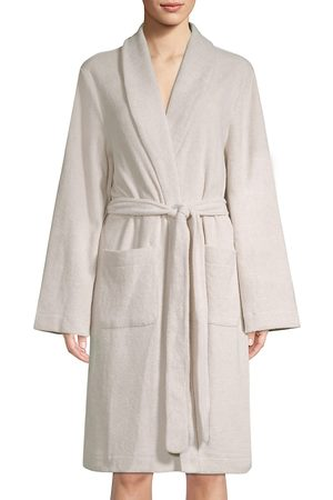 Hanro Women's Plush Wrap Robe - - Size Large