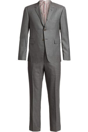 Thom Browne Men's Classic Wool Suit - - Size 3 (Large)