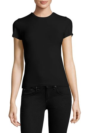 ATM Anthony Thomas Melillo Women's Stretch Cotton Tee - - Size XS