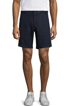 Orlebar Brown Men's Norwich Linen Shorts - - Size 38 R