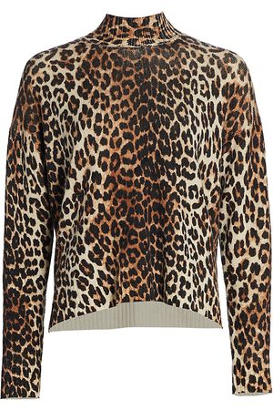 Ganni Women's Print Wool Sweater - - Size XXS-XS