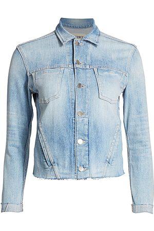 L'Agence Women's Janelle Slim Trucker Jacket - - Size XS