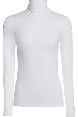 Majestic Women's Soft Touch Turtleneck Top - - Size 2 (Small)