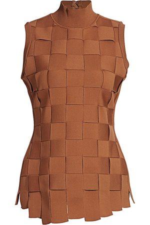 Hervé Léger Women's Bandage Weave Tank Top - - Size Medium