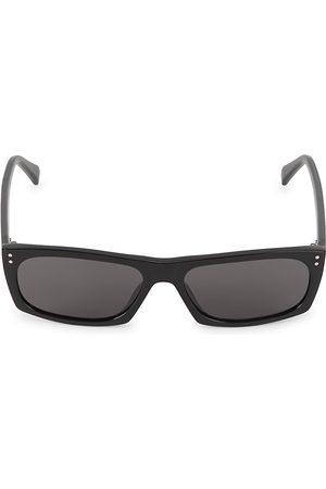 Céline Men's 57MM Rectangular Plastic Sunglasses