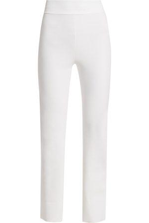CHIARA BONI Women's Venusette High-Waist Straight-Leg Pull-On Pants - - Size 52 (16)