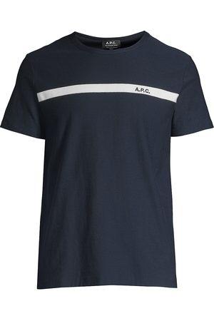 A.P.C Men T-shirts - Men's Cotton T-Shirt - - Size XL