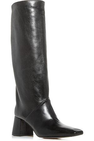 Miista Women Thigh High Boots - Women's Finola Square Toe Tall Boots