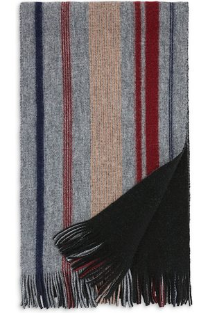 Bloomingdale's Doubleface Striped Cashmere Scarf - 100% Exclusive