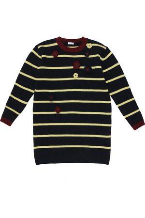Il gufo Striped wool dress