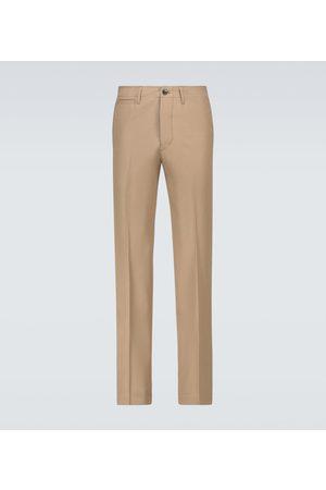 VISVIM Wool and linen chino pants