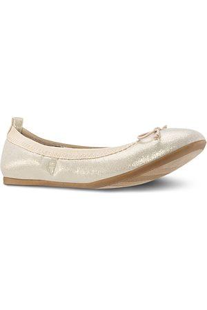 NINA Girls' Esther Patent Ballet Flats - Little Kid, Big Kid
