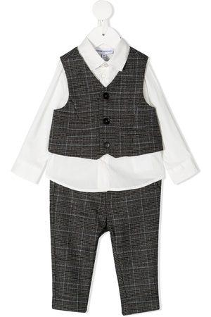 Emporio Armani Three-piece waistcoat set - Grey