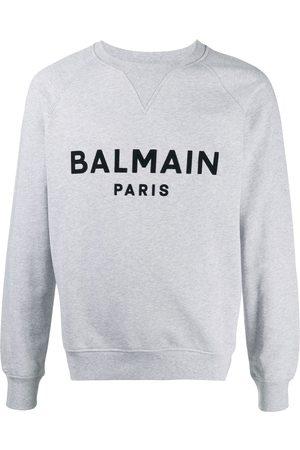 Balmain Logo print sweatshirt - Grey