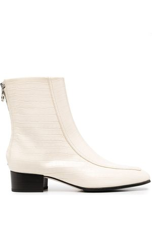 Aeyde Rear-zip ankle boots