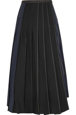 BODICE Women Pleated Skirts - Panelled twill wrap skirt