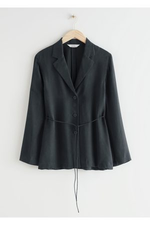 & OTHER STORIES Relaxed Belted Blazer