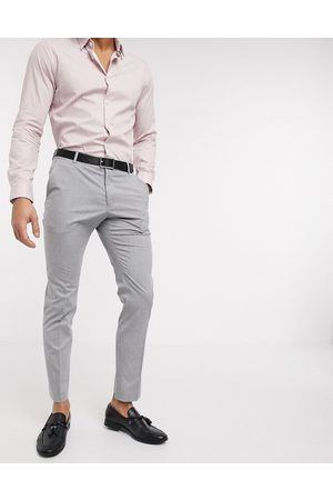 Selected Suit pants with stretch in slim fit light