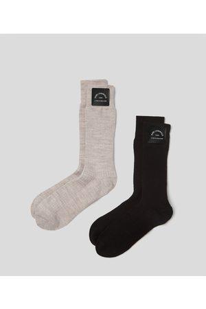 Karl Lagerfeld Women Socks - CASHMERE SOCKS 2-PACK