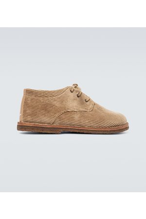UNDERCOVER Corduroy derby shoes