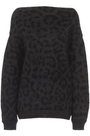 VALENTINO Jacquard mohair-blend sweater