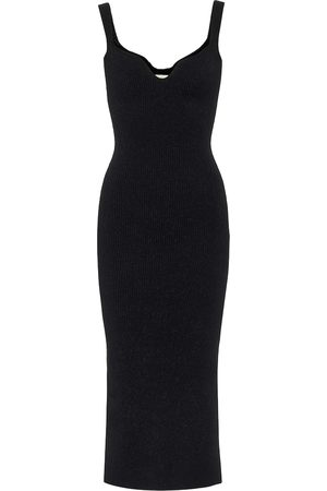 Khaite Nina ribbed knit midi dress