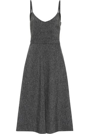 VALENTINO Wool crêpe slip dress