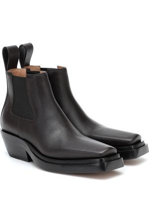 Bottega Veneta BV Lean leather ankle boots