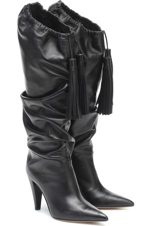 ALEXANDRE VAUTHIER Emmanuelle knee-high leather boots