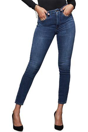 GOOD AMERICAN Good Legs High Rise Skinny Jeans in Blue265