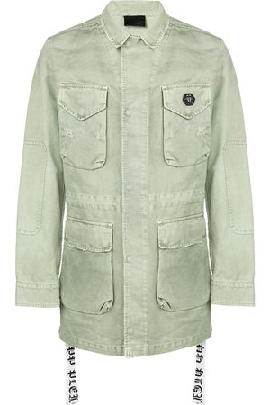 Philipp Plein Men Parkas - Multi-pocket parka