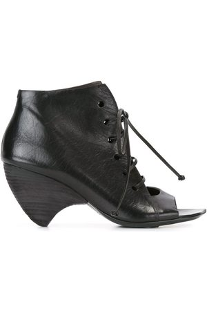 MARSÈLL Women Ankle Boots - Structured lace-up ankle boots