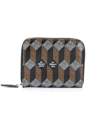 AU DEPART Monogram print purse