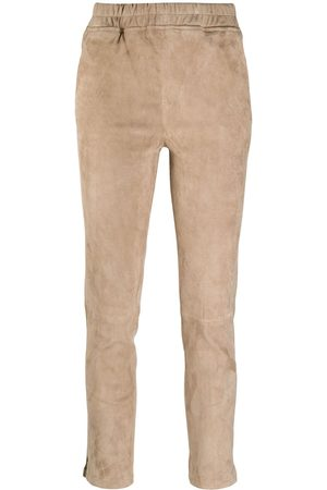 arma leder Women Skinny Pants - Slim-fit pull-on trousers - Neutrals