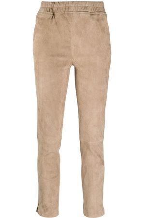 Arma Women Skinny Pants - Slim-fit pull-on trousers - Neutrals